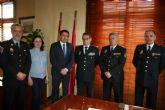El Alcalde se reúne con el Subdirector General de Logística de la Dirección General de Policía del Ministerio de Interior
