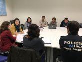 La Comisión Municipal de Absentismo y Abandono Escolar del Ayuntamiento de Torre-Pacheco se ha reunido esta mañana.