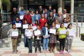 FCC y el Ayuntamiento fomentan el reciclaje  entre los escolares pinatarenses con la campaña Ecolimpia