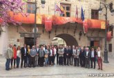Amplia delegaci�n de socialistas apoyan el Año Jubilar de Caravaca