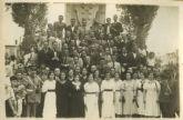 El Archivo General custodia y digitaliza cerca de medio centenar de fotografías sobre la historia del Orfeón Fernández Caballero