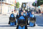 Los mayores veneran a la Virgen de la Soledad