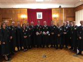 El Consejo General de Graduados Sociales de España entrega la medalla de Oro al Mérito Colegial a la Junta de Gobierno de la Región de Murcia