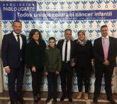 La Asociación Pablo Ugarte celebra una multitudinaria cena de apoyo a la investigación del cáncer infantil