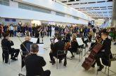 Primer concierto de la Orquesta Sinfónica  en el Aeropuerto Internacional