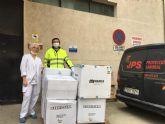 Rigurosas medidas de seguridad y donaciones a hospitales en Jisap