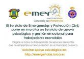 El Ayuntamiento de Lorca pone en marcha un servicio de apoyo psicológico y gestión emocional dirigido a trabajadores de servicios esenciales que luchan contra en Coronavirus