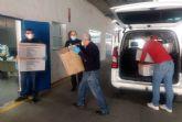 Nuevas donaciones de material sanitario para hacer frente a las necesidades de los hospitales y servicios esenciales de Cartagena
