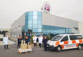 Grupo Fuentes dona para los servicios públicos 1.000 mascarillas, 3.000 guantes y 200 botes de gel hidroalcohólico