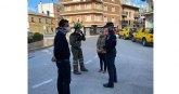 Las Brigadas Forestales desinfectan los espacios públicos de Cehegín
