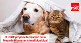 Se creará la Mesa de Bienestar Animal municipal tras la aprobación de la propuesta del Grupo Socialista