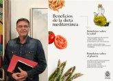 Saorín: 'La #DietaMediterránea es una de las más completas, equilibradas y saludables'