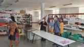 El concejal de Educación, Diego Boluda, junto a técnicos de la concejalía visitan la sede del CEOM