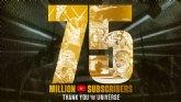 El canal de YouTube de la WWE alcanza los 75 millones de suscriptores