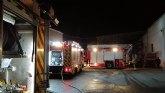 Incendio en un secadero industrial de pimentón en Totana
