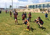 Las jóvenes promesas del rugby murciano protagonizan una gran jornada en Las Torres de Cotillas