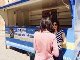 Se instala un Punto de Información en la plaza de la Constitución con motivo del Día Mundial sin Tabaco que se celebra hoy