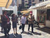 Maruja Pelegrín inaugura la II edición de la Feria Muác del Verano