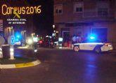 La Guardia Civil detiene a un conductor por eludir un control y ocasionar un grave accidente con tres heridos