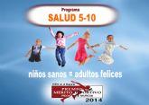 Los niños y niñas del programa SALUD 5-10 de Molina de Segura celebran su fiesta fin de curso