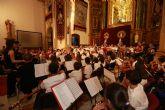 La Red de Orquestas Escolares de la UCAM despide el curso con un concierto en Los Jerónimos