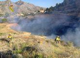 La Guardia Civil esclarece las causas del incendio que calcinó 4.000 metros cuadrados de terreno forestal