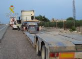 La Guardia Civil intercepta en Totana a un camionero por conducir bajo los efectos de la cocaína