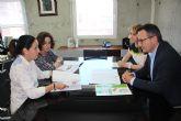 Reuni�n con la Directora General de Centros