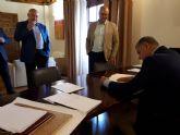 El Sindicato Central de Regantes del Trasvase Tajo-Segura ha realizado una reunión extraordinaria en Pliego