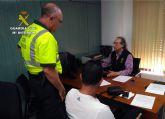 La Guardia Civil detiene a una persona por facilitar su D.N.I. a otra que se presentó al examen del permiso de conducción en su nombre