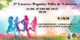 El sábado 22, II Carrera Popular 'Villa de Valentín'