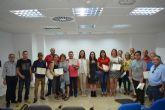 Concluyen los cursos de informática impartidos por la técnica adscrita al Programa de Empleo Público Local de Garantía Juvenil
