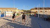 Playa Paraíso acoge la Fase Municipal de Voley Playa Cartagena