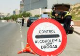 Camapaña especial de tráfico esde el 3 al 9 de junio para detectar alcohol y drogas en los conductores