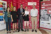 David Vigueras, elegido 'Voluntario del mes' del proyecto 17 ODSesiones de la Universidad de Murcia