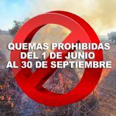 Quedan prohibidas las quemas agrícolas