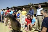 Zooterapia con leones marinos para potenciar las capacidades de los niños en la Escuela de Verano Adaptada de Terra Natura