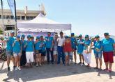 Voluntarios del Banco del Tiempo se unen a la campaña 'Naturalmente, Mar Menor'