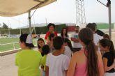 Decenas de jóvenes lumbrerenses se conectan a la naturaleza en 'I Love Campus'