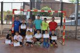 Concluye el Curso de Tecnificación de Fútbol Sala con el acto de entrega de diplomas