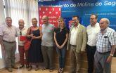 Cáritas recibe 60.000 euros municipales para el acompañamiento social a familias de Molina de Segura