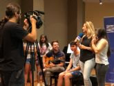 Un grupo de ocho jóvenes de San Javier participan  en un proyecto Erasmus + sobre el género de los migrantes en Europa