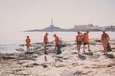 La Mar de Músicas y Soltec limpian Cabo de Palos de residuos