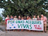 Huerta Viva reclama un mejor mantenimiento de las acequias y azarbes