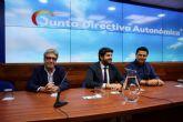 Luengo: 'El presidente ha formado un gobierno capaz bajo el único color de la Región de Murcia'