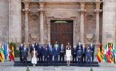 López Miras reclama a Sánchez que el reparto de los fondos europeos para hacer frente al covid-19 'no discrimine a unos territorios frente a otros'
