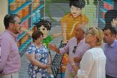 Fomento eliminará las pintadas  de distintas calles del casco urbano en las próximas semanas
