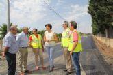 La Comunidad acomete obras de recuperación de dos caminos rurales en Puerto Lumbreras por valor de 58.750 euros