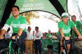 La Bicicleta Solidaria de Caja Rural Regional de Murcia y Seguros RGA consigue 1.740 euros para la asociación AIDEMAR