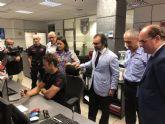 La integración de Bomberos Murcia en la red de radiocomunicaciones regional asegurará una actuación rápida, ordenada y eficaz